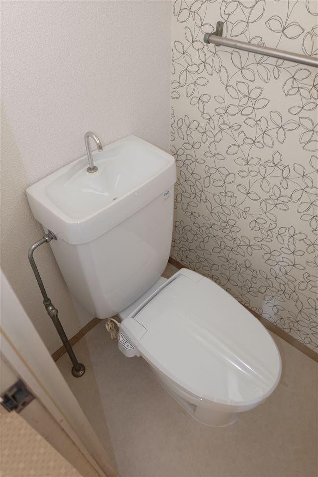 ハイグレード望月 203号室のトイレ
