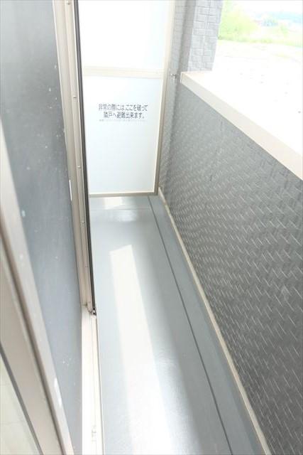 グレース エクセレンス 101号室のバルコニー