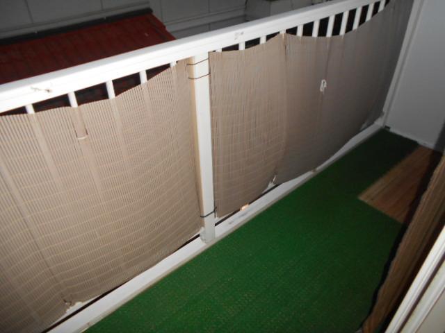 武美ハイツ 2B-2号室のバルコニー