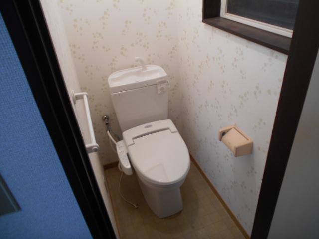 武美ハイツ 2B-2号室のトイレ