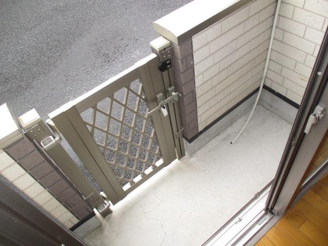 リシャールⅠ 101号室のバルコニー