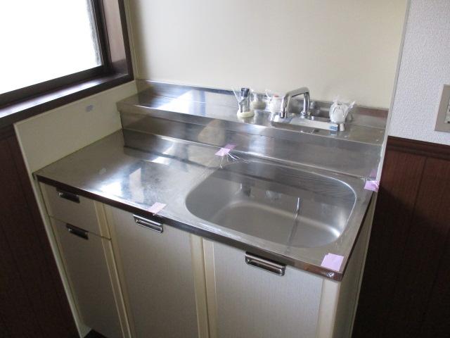 オストハウス 101号室のキッチン