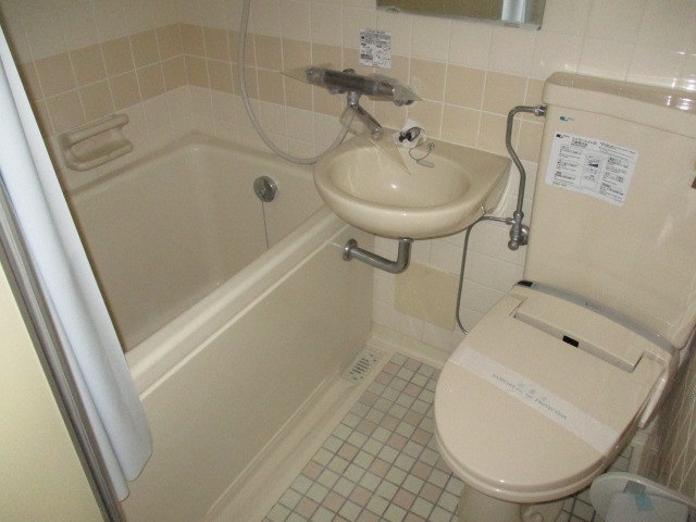 タカクコーポ 205号室の洗面所