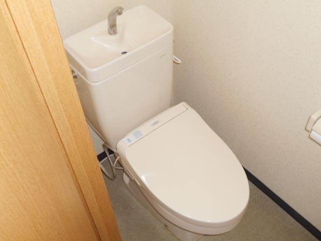 メゾン・ミヤマ 301号室のトイレ