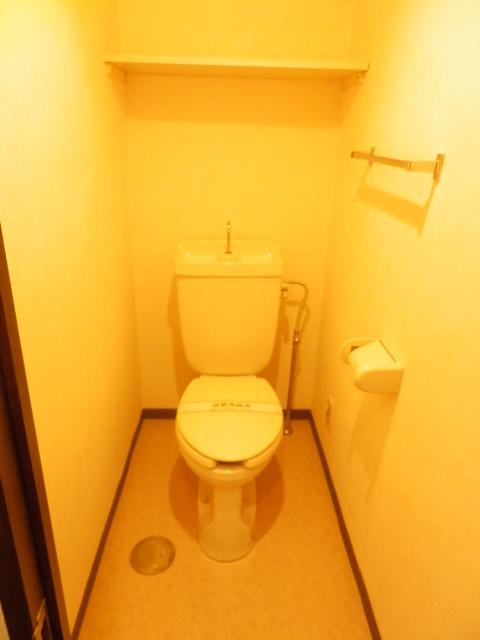 NICアーバンハイム二俣川 0101号室のトイレ
