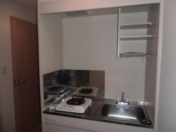 Plaza・M 202号室のキッチン