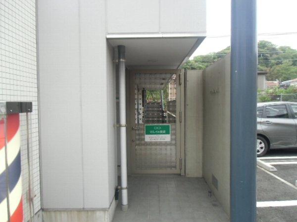 Plaza・M 202号室のエントランス