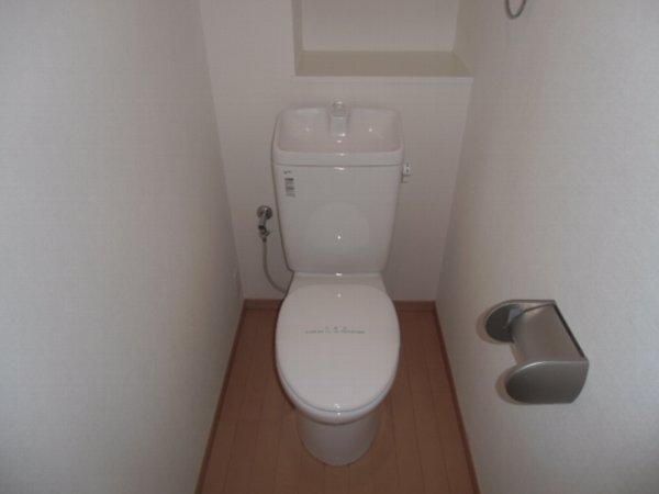 Plaza・M 202号室のトイレ