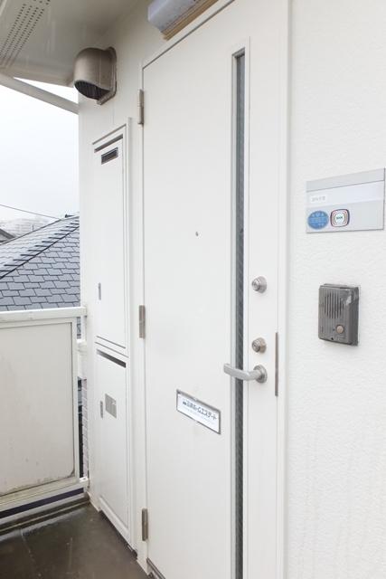 ベイハウスK 205号室のセキュリティ
