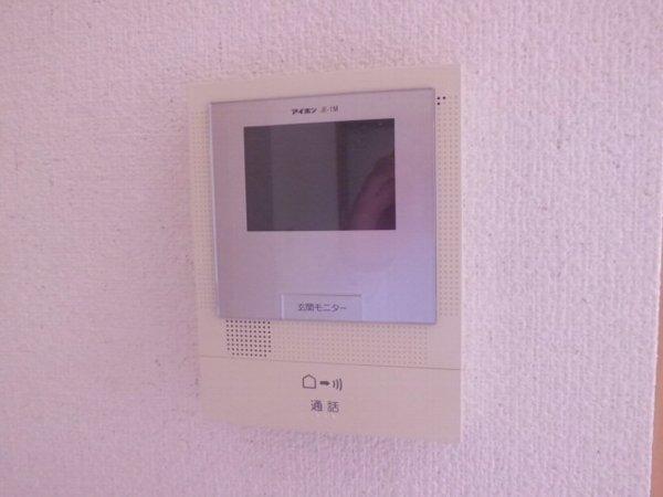 アリスガーデン N201号室のセキュリティ