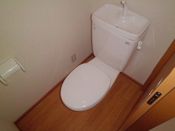 アリスガーデン N201号室のトイレ