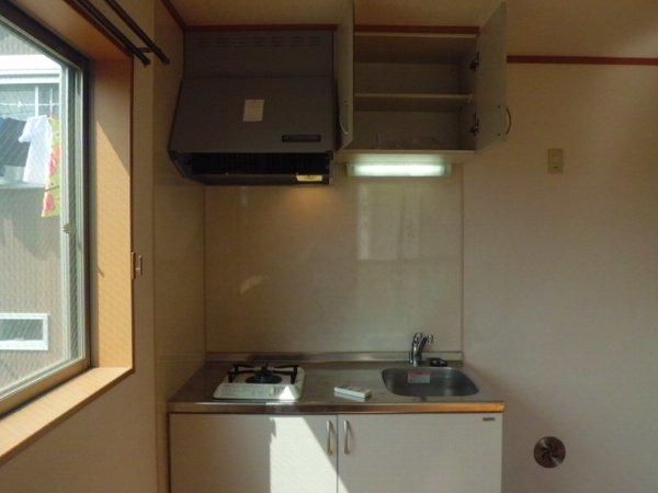 アリスガーデン N201号室のキッチン