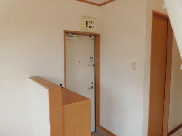 アリスガーデン N201号室の玄関