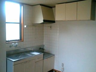 シティハイツ板橋Ⅲ 01010号室のキッチン