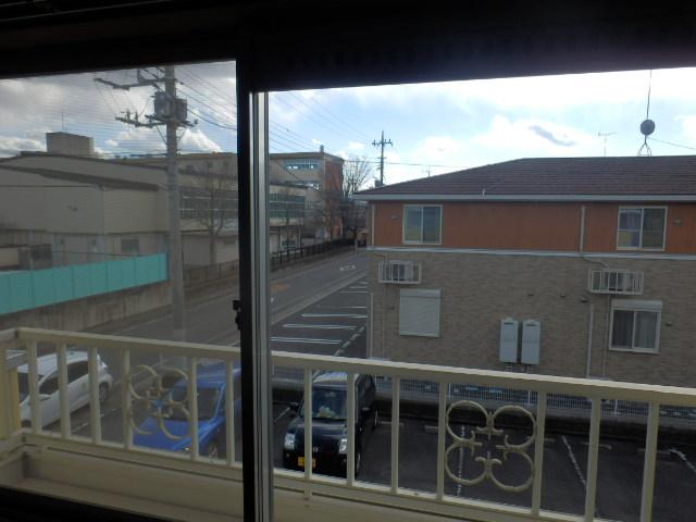 新井ハイツⅡ 02040号室の眺望