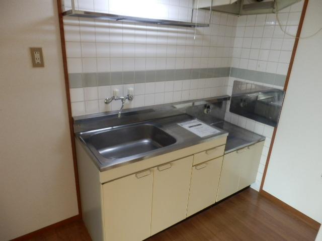 新井ハイツⅡ 02040号室のキッチン