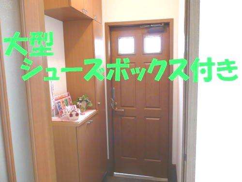 コーポ太陽Ⅰ 01030号室の玄関