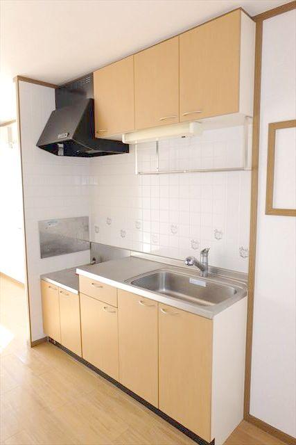 プレーリーメゾン 02010号室のキッチン