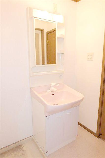 プレーリーメゾン 02010号室の洗面所