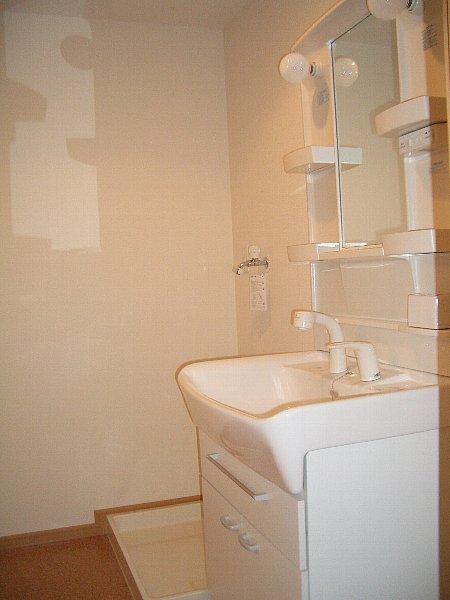 アラシード 03010号室の洗面所