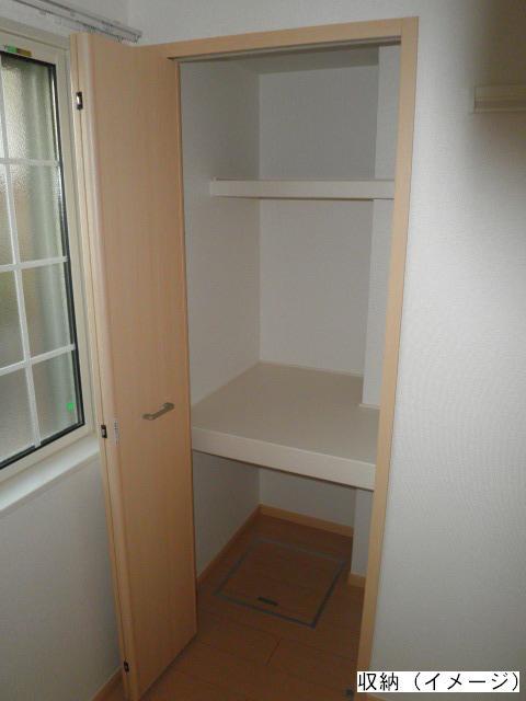 ヴィラ清寿 402号室の収納
