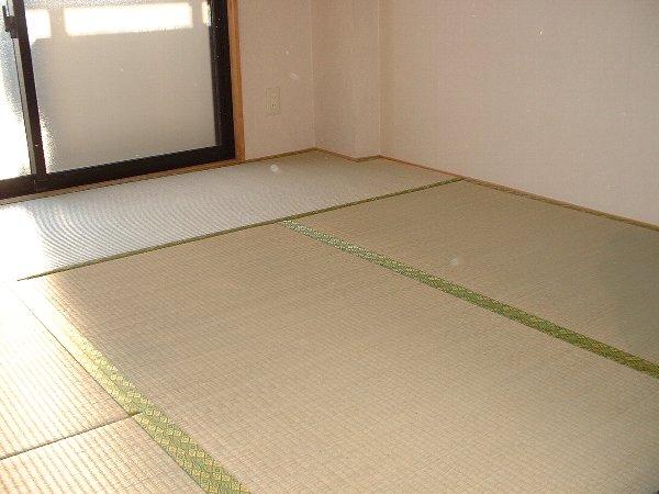 グリーンパーク 02020号室のリビング