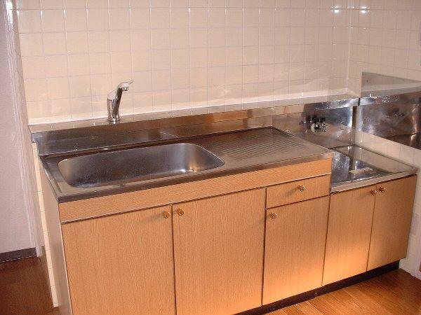グリーンパーク 02020号室のキッチン