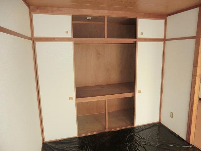 サウスウィンド 202号室の収納