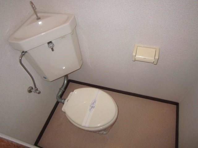 ドエルパークサイド 101号室のトイレ
