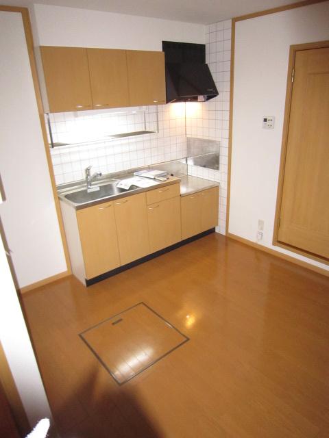 パルテールN 02030号室のキッチン