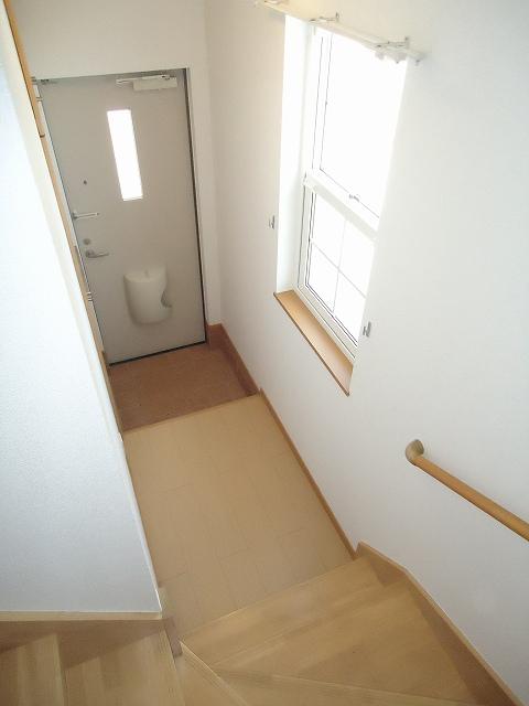 メゾン・アムール 201号室の玄関