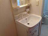 ノーブル・コーケ・横浜 701号室の洗面所