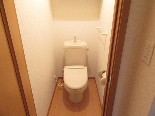 ボニート 欅 01030号室のトイレ