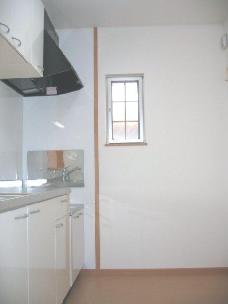 メゾンウエスト 202号室のキッチン