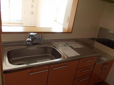 ソレアード 02010号室のキッチン