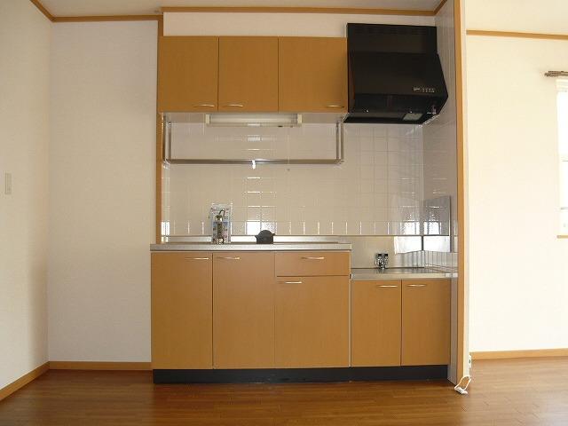 リヴァーサイド Ⅱ 02020号室のキッチン