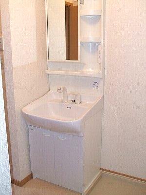 リヴァーサイド Ⅱ 02020号室の洗面所