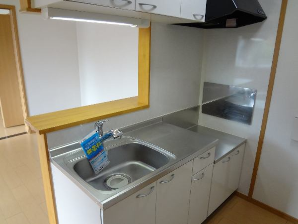 アマービリス 201号室のキッチン