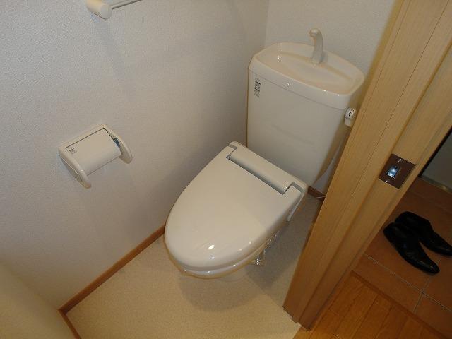 ベリエ太秦 403号室のトイレ