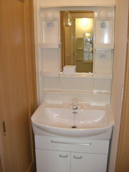 ラソ・ヒメーノⅠ 202号室の洗面所