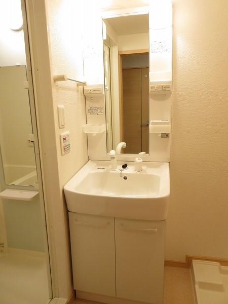 ジュネス飛田給 204号室の洗面所