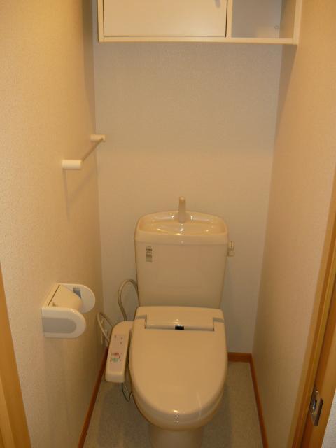 フィオーレA 01010号室のトイレ
