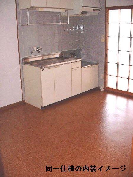 エステート若林 Ⅰ 201号室のキッチン