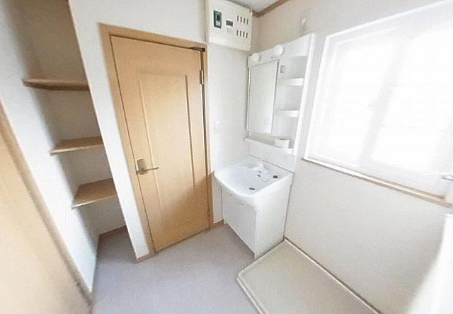 グレイスⅣ 203号室の洗面所