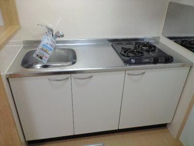 カレント・レジデンス 01040号室のキッチン