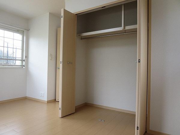 オン ブラージュ 201号室の収納