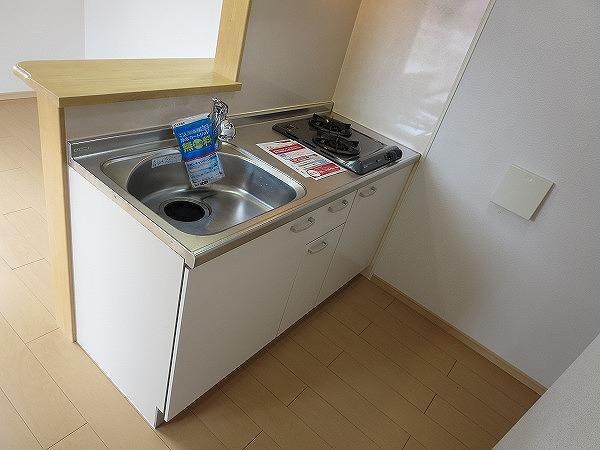 オン ブラージュ 201号室のキッチン
