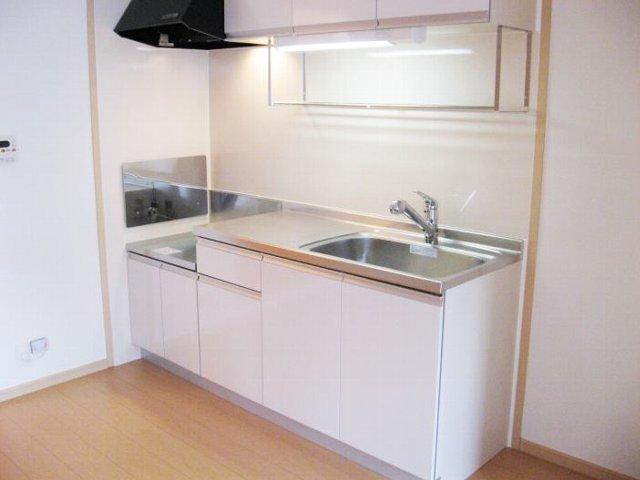 コンフォートテラス 02020号室のキッチン
