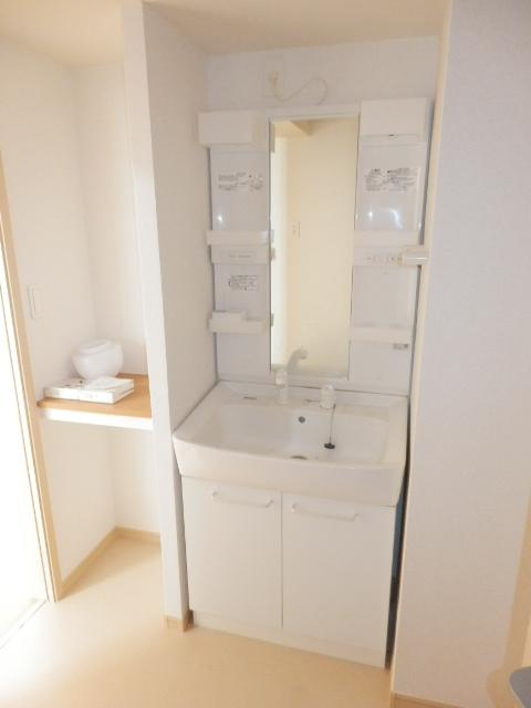 クラシオン 01040号室の洗面所