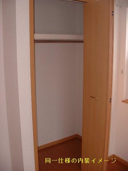U ユートピア 101号室の収納